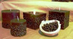 Świece Kawa
