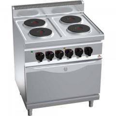 Kuchnia elektryczna z piekarnikiem elektrycznym GN