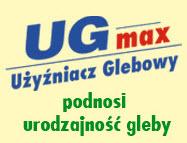 Preparat do podnoszenia urodzajności gleby - użyźniacz glebowy UG max