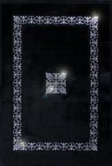 Luksusowy dywan z kryształami