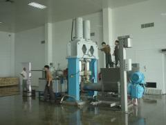 Equipment for the production of milk powder