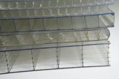 Sheets polycarbonate roofing