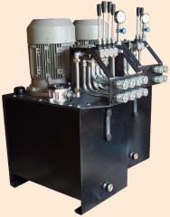 Zasilacze (agregaty) hydrauliczne.