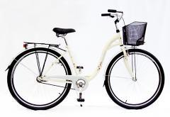 Rower z koszem