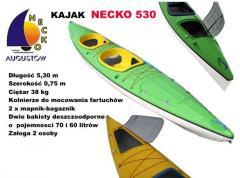 Kayak Necko 530 glued on contact, with a