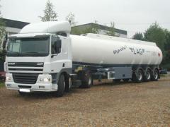 Naczepy do transportu paliw płynnych