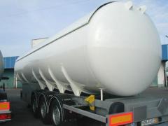 Naczepy do transportu gazu propan-butan