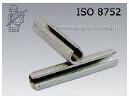 Kołki sprężyste rozcięte wzmocnione ISO 8752, stal
