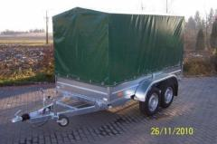 Two-axle trailers