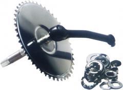 Mechanizmy korbowe do rowerów treningowych