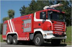 Samochody ratowniczo-gaśnicze Scania R480CB (6x6)