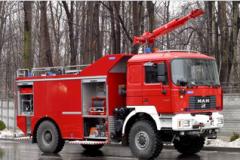 Samochody ratowniczo-gaśnicze MAN 19.414 FAC (4x4)