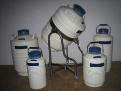 Naczynia (kontenery) na ciekły azot