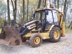 Koparko-ładowarka CAT 428 C