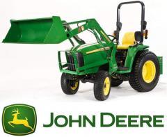 Ciągnik kompaktowy traktor JOHN DEERE 3036E