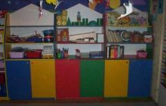 Zestaw mebelków przedszkolnych