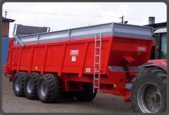 Rozrzutniki obornika Dragon EV 2000 10-32 ton