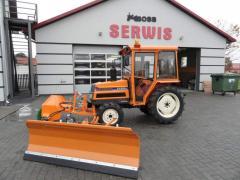 Mini traktorekYanmar FX22DT z Kabiną, Turem i