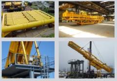 Elementy konstrukcji platform