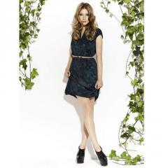 Sukienka skórzana IDSK04W11-2350