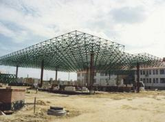 Konstrukcja zadaszenia Terminalu