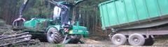 Samobieżny rębak do drewna Albach Silvator 2000