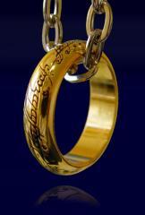 Pierścień z filmu Władca Pierścieni LOTR Ring The