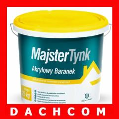 Plastering acrylic