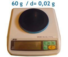 Waga laboratoryjna A&D EW-60G 60g/0,02g