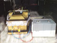 Samochodowy system od schładzania ciał osób