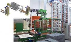 Linia produkcyjna do materiałów budowlanych