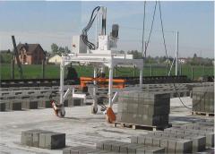 Paletyzer wyrobów betonowych