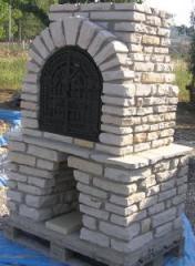Kiinteät betoni Grilli