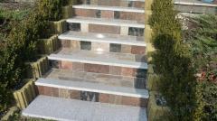 Schody marmurowe i granitowe