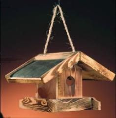 Perchboxes, feeding-racks for birds
