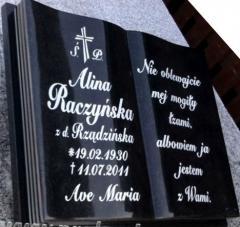 Książki granitowe