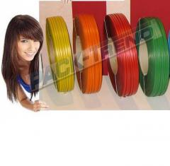 Tapes and braid from made of polypropylene