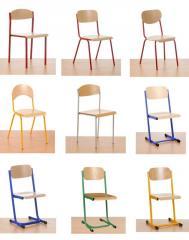 Krzesło szkolne i przedszkolne