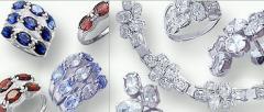 Biżuteria srebrna z cyrkoniami