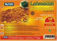 Pizza turecka Lahmacun