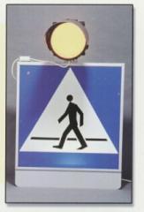 Znaki drogowe D-6 podświetlane
