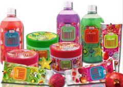 Tutti Frutti Kosmetyki z roślinnymi endorfinami i