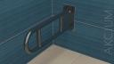 Uchwyt uchylny mocowany do ściany 60cm