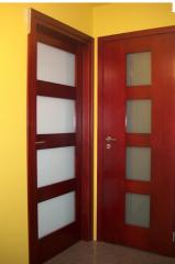 Drzwi drewniane jednoskrzydłowe