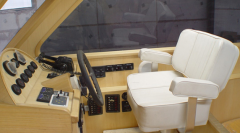 Jacht motorowy wnętrze