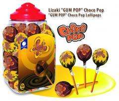 Lizaki czekoladowe CHOCO POP