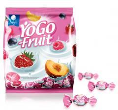 Landrynki jogurtowe nadziewane YoGo Fruit