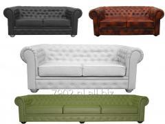 Sofa chesterfield rozkładana 195cm