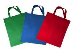 Kolorowe torby z materiału