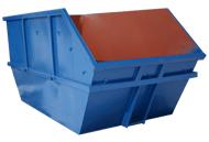 Kontener mulda (możliwość składowania pustych kontenerów w pryzmę)